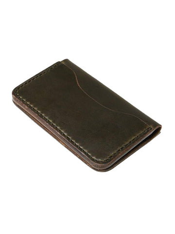 3 Pocket | Moss Wallet