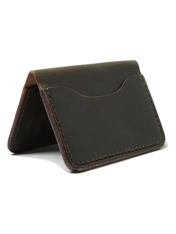 Wood N' Steel 3 Pocket Wallet Moss