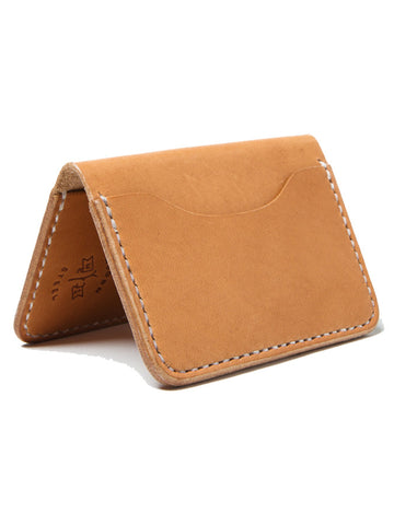 Wood N' Steel 3 Pocket Wallet Natural