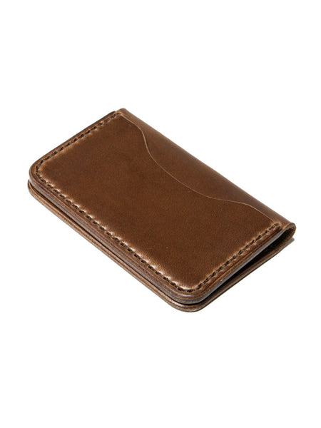 Wood N' Steel 3 Pocket Wallet Walnut