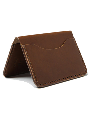 Wood N' Steel 3 Pocket Wallet Whiskey