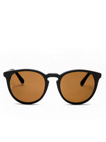 Wonderland Sun Beaumont Matt Black Sunglasses
