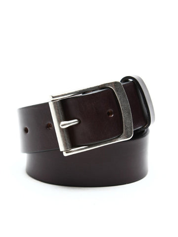 Apolis Brown Leather Belt