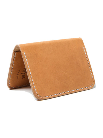 Wood N' Steel 2 Pocket Natural Wallet