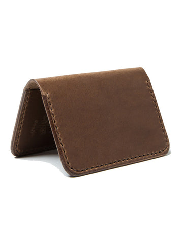 Wood N' Steel 2 Pocket Walnut Wallet