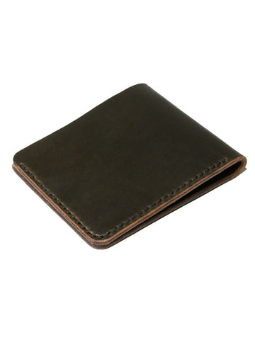 Wood N Steel Bifold Wallet Moss