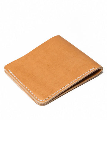 Wood N Steel Bifold Wallet Natural