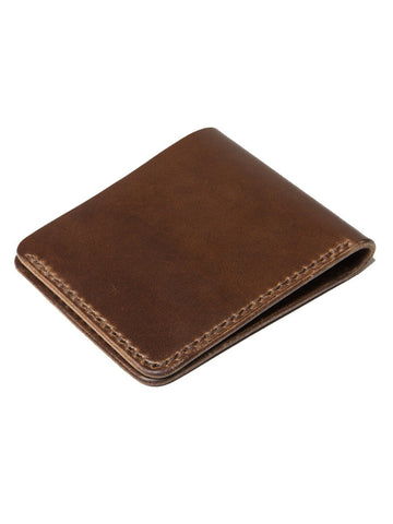 Wood N Steel Bifold Wallet Walnut