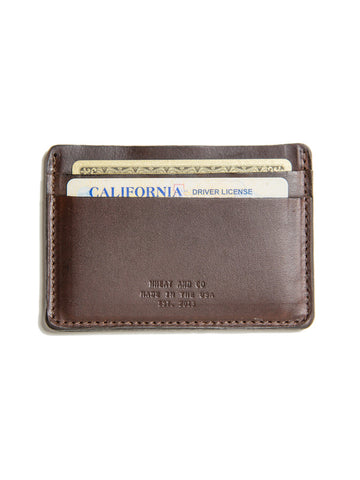 Wheat and Co Cromexel Leather Wallet