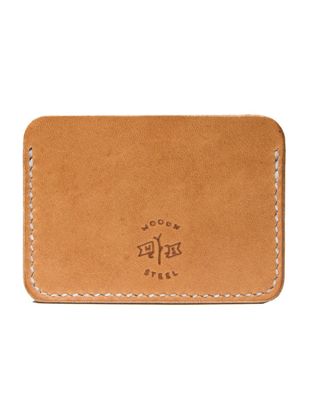Wood N' Steel Card Wallet Natural