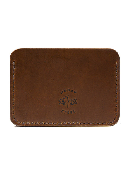 Wood N' Steel Card Wallet Whiskey
