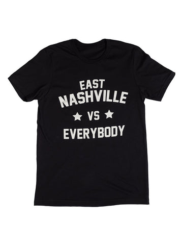 Denim & Spirits East Nashville vs Everybody Tee Black