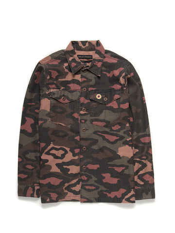 Deus Ex Machina Leo Camo Overshirt