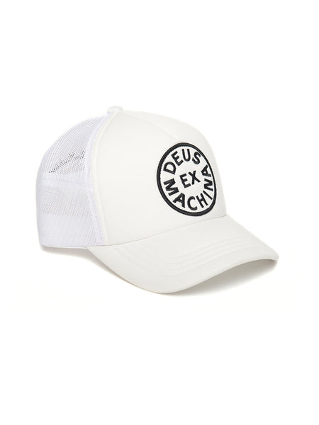 Deus Ex Machina White Trucker Hat