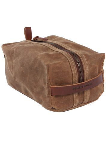 Bradley Mountain Brush Brown Dopp Kit