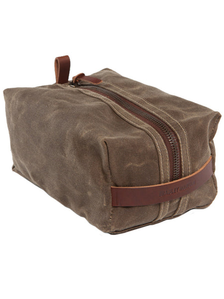 Bradley Mountain Field Tan Dopp Kit
