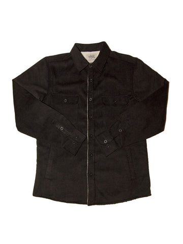 Tank Farm Eastwood Sherpa Jacket Black