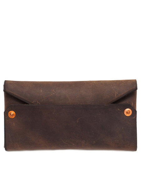 Boutonne Leather Envelope Sunglass Case