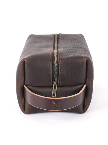 Go Forth Goods Leather Dopp Kit