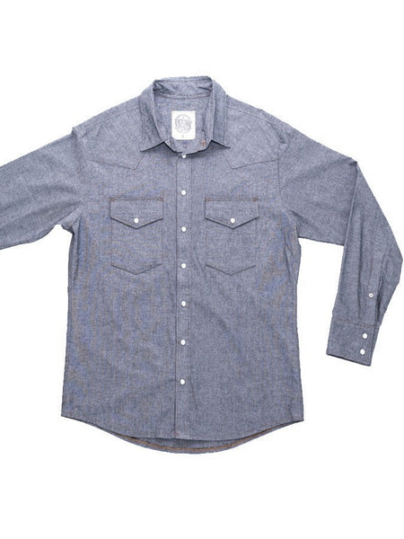 Denim And Spirits Gray Chambray Woven