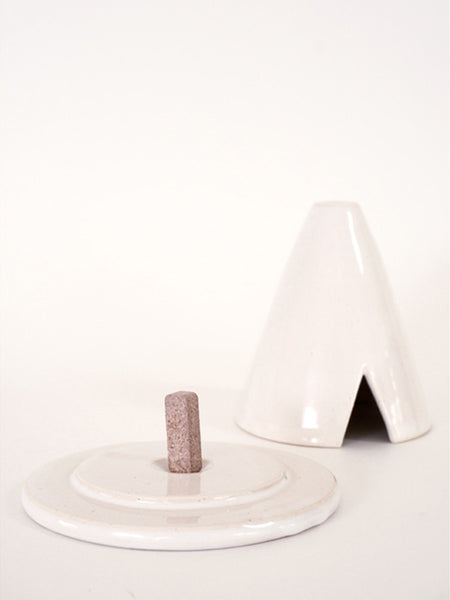 Wheel Ceramic Incense TeePee