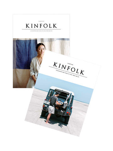 Kinfolk Magazine Volume 8 and 9 Bundle Deal