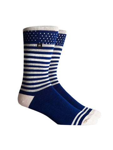 Richer Poorer Knockout Reflective Sock