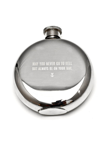 Izola May You Never 5oz Flask