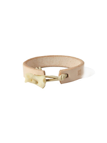Ewing Dry Goods Bear Knuckle Natural Leather Cuff