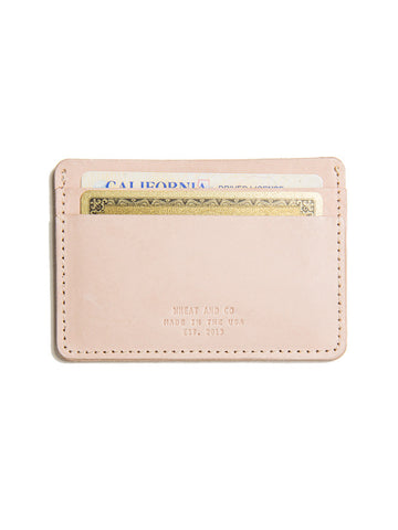 Wheat and Co Natural Leather Wallet