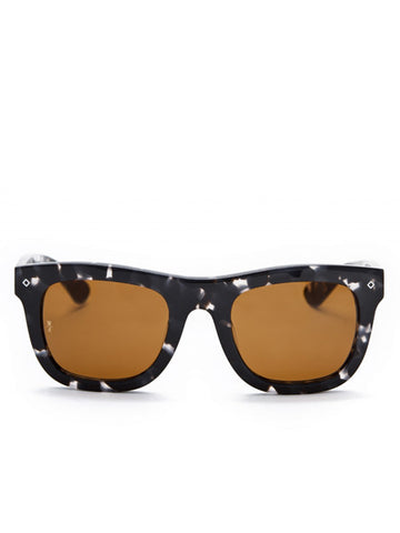 Wonderland Sun Palms Black Tortoise Sunglasses