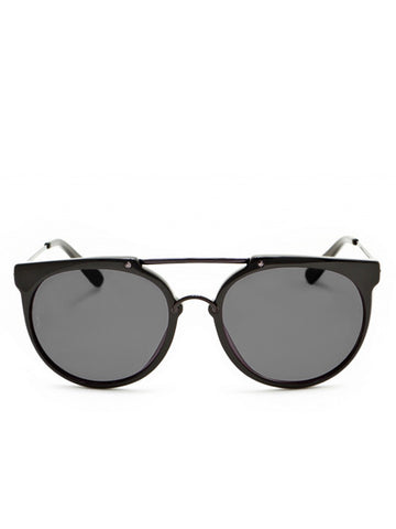 Wonderland Sun Stateline Black Sunglasses
