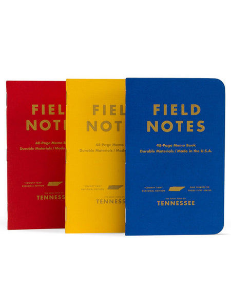 Field Notes Tennessee County Fair Notebook