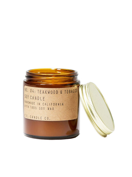 PF Candle Co Number 4 Teakwood Tobacco