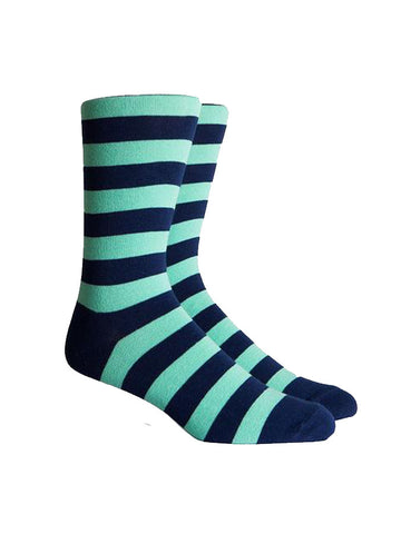 Richer Poorer Walk On Mint Sock