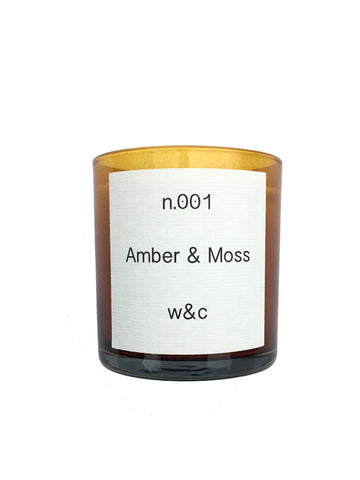 Wheat & Co Amber & Moss Candle