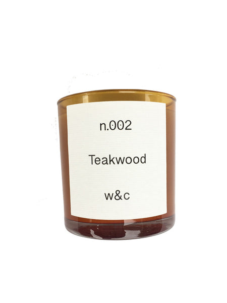 Wheat & Co Teakwood Candle