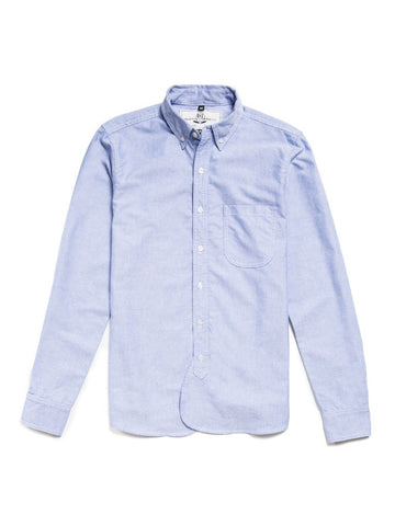 Rogue Territory Long Sleeve Maker Shirt Blue