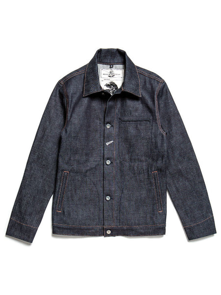 Rogue Territory Indigo Selvedge Denim Jacket