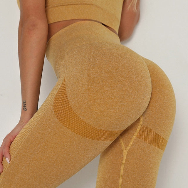 Leggins double push-up anti cellulite et effet peau d'orange