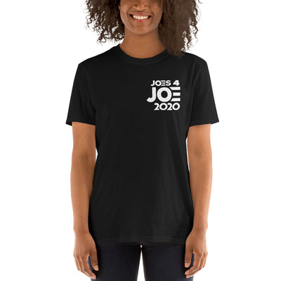 Joes 4 Joe Pocket - Black Short-Sleeve Unisex T-Shirt