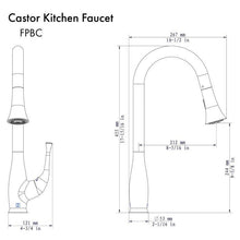 Load image into Gallery viewer, ZLINE Castor Kitchen Faucet