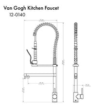 Load image into Gallery viewer, ZLINE Van Gogh Kitchen Faucet