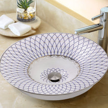 Load image into Gallery viewer, Nantucket St. Tropez Italian Fireclay Vanity Sink - RC77240BS