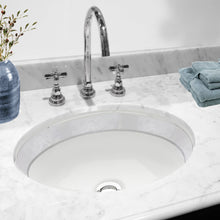 Load image into Gallery viewer, Nantucket Izola Italian Fireclay Vanity Sink - RC78340SL