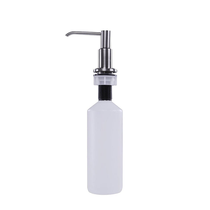 Nantucket Brushed Nickel Soap Dispenser - NSSD-BN - Manor House Sinks