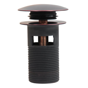 Nantucket Oil Rubbed Bronze Finish Umbrella Drain - NS-UDORB - Manor House Sinks