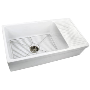 Nantucket Stainless Steel Bottom Grid - BG-FCFS36-DB - Manor House Sinks