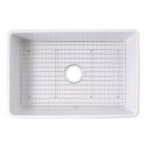 Nantucket Stainless Steel Bottom Grid - BG-VC30S - Manor House Sinks
