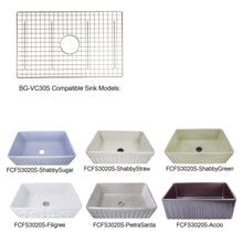Load image into Gallery viewer, Nantucket Stainless Steel Bottom Grid - BG-VC30S - Manor House Sinks